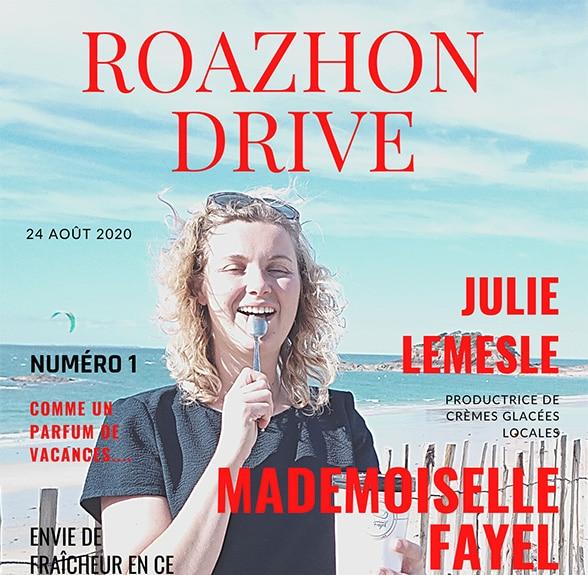 Reportage sur Julie Lemesle, productrice de crèmes glacées Mlle Fayel